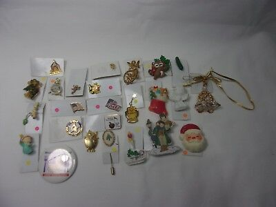 Estate Sale Vintage Antique Lot of Jewelry Pins Broaches