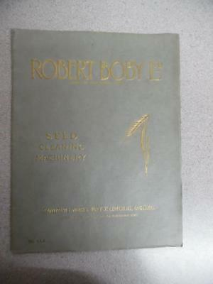 c.1920s ROBERT BOBY Ltd Grain Cleaning Machinery Catalog Bury St Edmunds England