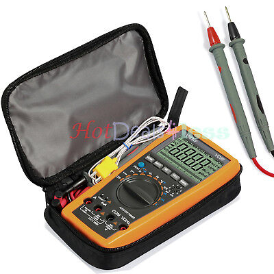 VC99 5999 Digital Multimeter LCD Auto Ranging Multi Meter AC/DC/OHM TESTER Bag