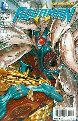 Aquaman (5th Series) #34A 2014 NM