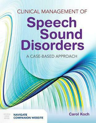 Clinical Management of Speech Sound Disorders by Carol Koch Paperback Book Free