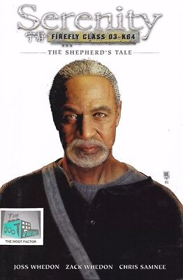 Serenity Firefly SHEPHERDS TALE Graphic Novel comic Book Exclusive Class O3-k64
