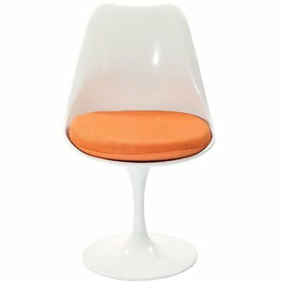 Awesome Modway Lippa Modern Dining Side Chair With Fabric Cushion In Creativecarmelina Interior Chair Design Creativecarmelinacom