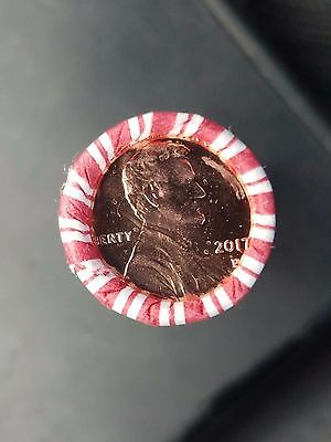 2017 P Lincoln Cent Penny Pennies Sealed Roll - First P Mint Mark