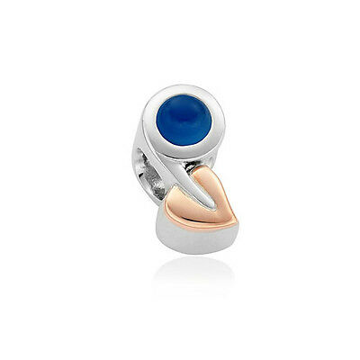 NEW Clogau Silver & Rose Gold Tree of Life Birthstone Charm £100 off! SEPTEMBER