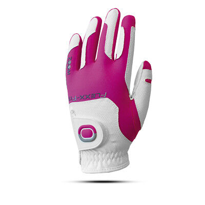 ZOOM WEATHER Flexx Fit Golfhandschuhe Damen White/Fuchsia