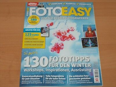 Digital Photo Sonderheft FOTO EASY Januar 1/2018 NEUWERTIG!