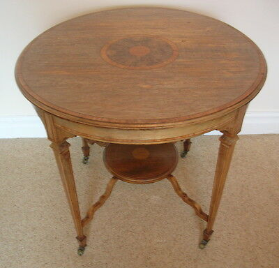Large Antique Window Table. Victorian Mahogany.