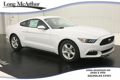 """2017 Ford Mustang V6 AUTOMATIC BRAND NEW AT USED CAR PRICING  MSRP $27280 PUSH BUTTON START 17"""" SILVER ALUMINUM WHEELS DUAL EXHAUST"""