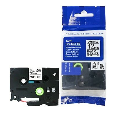 Compatible Label Tape Strong Adhesive for Brother P-Touch Printer TZ TZe