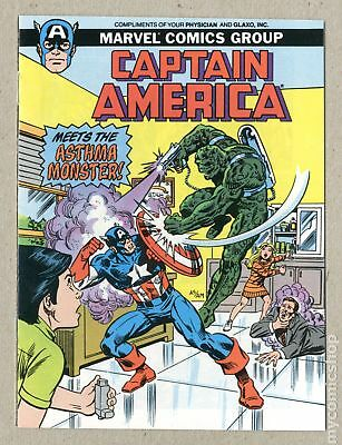 Captain America Meets the Asthma Monster (Giveaway) #0-MINI 1988 FN- 5.5