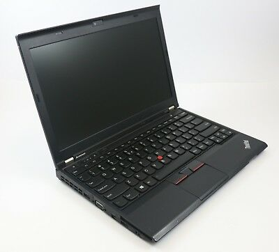 Lenovo ThinkPad X230 i5 2,6 GHz 4 GB Ram 160 GB HDD Webcam Win 10 Pro B