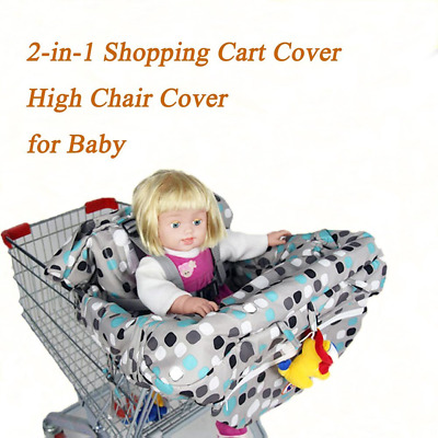 Benail 2-in-1 Cover Shopping Cart Cover High Chair Cover for Baby