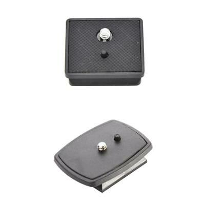 2PCS Camera Stand Tripod Quick Release Plate for VCT-D580RM //Weifeng 330A