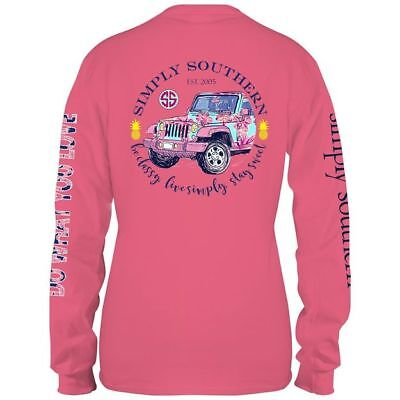 Simply Southern Womens Be Classy, Live Simply, Stay Sweet - Long Sleeve T-Shirt