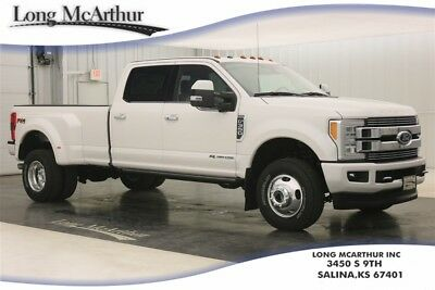2018 Ford F-350 LIMITED 4X4 SUPER DUTY CREW CAB DUALLY DIESEL 4WD MSRP $85870 4WD CREW CAB SUPER DUTY! 5TH WHEEL HITCH PACKAGE ULTIMATE TRAILER TOW CAMERA
