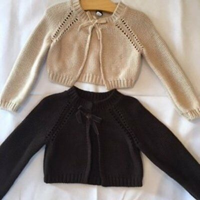 BABY GAP: Bolero Knit Jacket Size 4