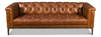 Magnificent Italian Modern Tufted Leather Chesterfield Sofa Track Style Gmtry Best Dining Table And Chair Ideas Images Gmtryco