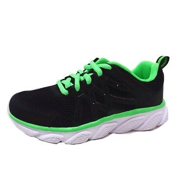Athletic Works  Mens Jogger Athletic Shoes Size 11 Black /& Lime