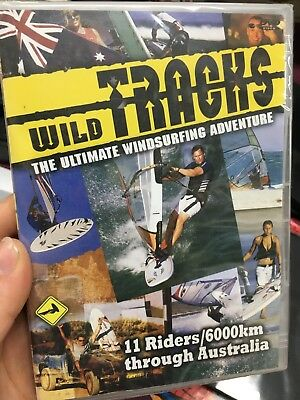 Wild Tracks - The Ultimate Windsurfing Adventure brand NEW/sealed region 4 DVD