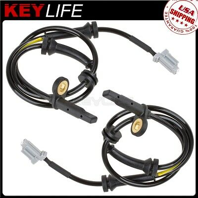 2x ABS Wheel Speed Sensor Front Left+Right For 2008 2011 2012 Nissan X-Trail 2.5