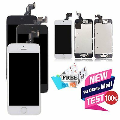 OEM For iPhone 5 5c 5s Complete LCD Display Touch Screen Replacement Digitizer