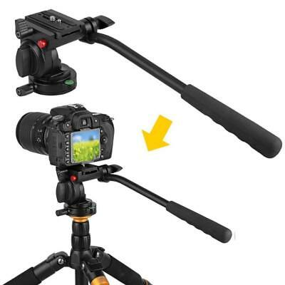 Camera Camcorder Tripod Mount Monopod Ball Head w/Quick Release QR Plate