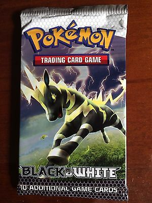 Pokemon Black and White Booster Pack  - Trading Card 10 Cards TCG RARE (Aus)