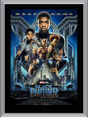 Black Panther A1 To A4 Size Poster Prints