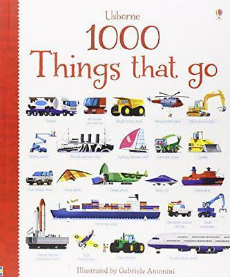 1000 Things That Go (1000 Pictures) by Sam Taplin   Hardcover Book   97814095518