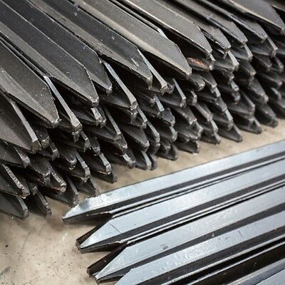 Black Star Pickets Building Construction Site Fence Metal in various length