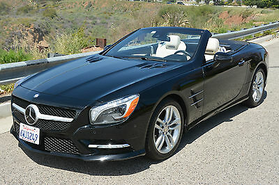 2013 Mercedes-Benz SL-Class Base Convertible 2-Door Pristine Low-Mi. Prem 1 & Drivers Assistance Pkg. MAGIC SKY CONTROL Immaculate!