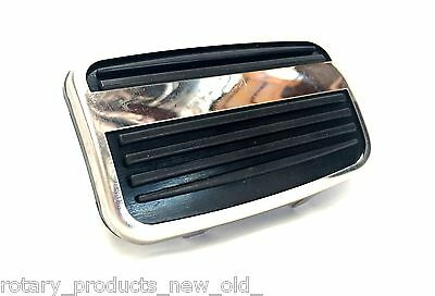 Ford Capri Mk1 Coupe V6 Gt Automatic Brake Pedal Rubber Pad & Stainless Trim