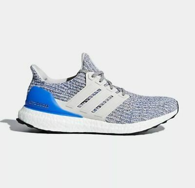 4d559cd2535 Adidas Ultra Boost 4.0 Size 10 Chalk Pearl White Royal yeezy nmd supreme  palace