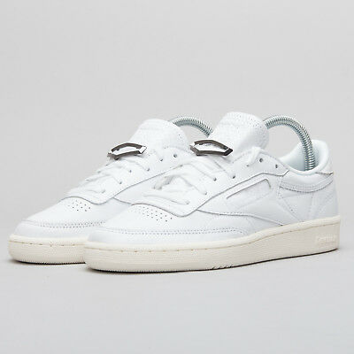 dd64782584fe4 REEBOK CLUB C 85 Hardware White Chalk Women Shoes Sneakers Trainers ...
