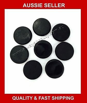 8Pcs HOT STONE 120g Each 6cm x 6cm x 1.5cm NATURAL BASALT STONES HOT MASSAGE