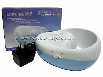 Electric Bubble Spa Luxury Hand Bowl Manicure Clean Nail Soften Cuticle