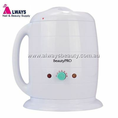 1L Wax Pot Beauty Pro Express Heater 1000cc Hard or Strip Waxing Aussie Sale