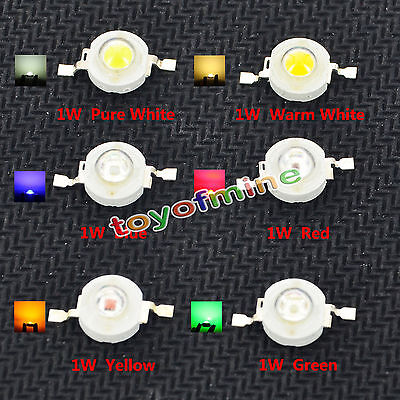 High Power 1W 3W 4W 5W 12W LED Light Chip Energy Saving Lamp Beads Bulbs DIY New