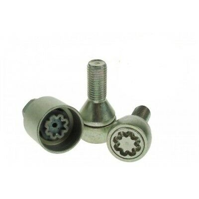 Stronghold - Pk4 M14x23mmx1.5 Sold Secure Lock Wheel Bolts - x Set 4 Locking