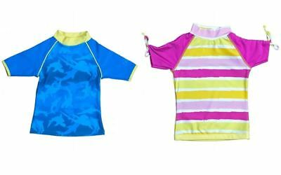 BabyBanz SHORT SLEEVED SWIM SHIRT Swimming Sun Protection Pool Baby/Toddler BN