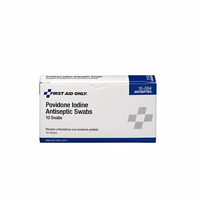❤ First Aid Only Pvp Iodine Swabs 10 Per Box New ❤
