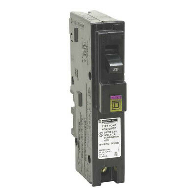 Square D HOM120PDFC Homeline Single-Pole Dual Function Circuit Breaker
