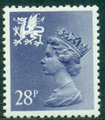 Great Britain Wales Sg-W63, Scott # Wmmh-50, Mint, Og, Nh, Great Price!