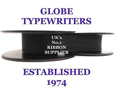 'remington Noiseless 8' *purple* Typewriter Ribbon* Manual Rewind + Instructions