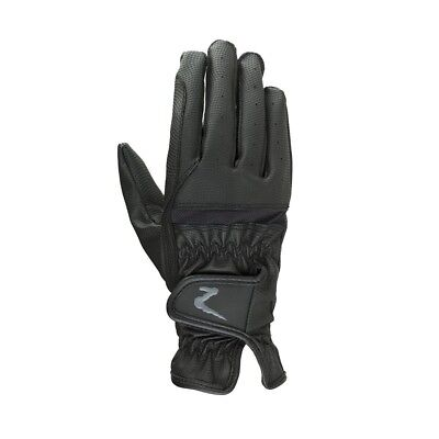 Horze Verona Synthetic Winter Riding Gloves with Enhanced Grip and Elastic