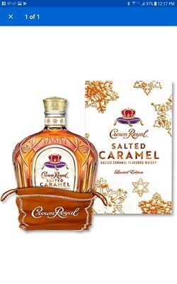 COMPLETE Crown Royal Salted Caramel LIMITED EDITION SOLD OUT Whiskey