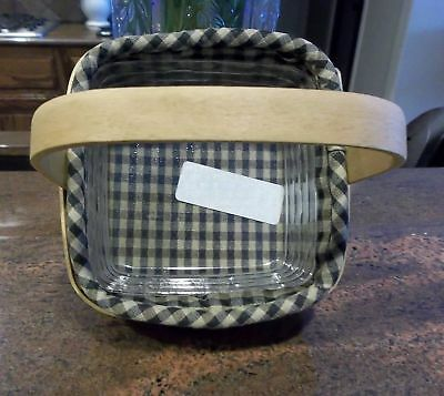 Longaberger TARRAGON OR COASTER TOTE BASKET PLASTIC PROTECTOR ONLY - New!!