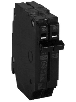 GE THQP240 Double Pole Circuit Breaker, 40A, 240V
