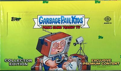 GBK Garbage Pail Kids Prime Slime Trashy TV Collectors Edition Hobby Box